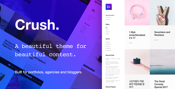 Crush - The Portfolio Theme
