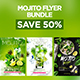 Mojito Flyer Bundle - GraphicRiver Item for Sale
