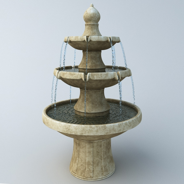 Fountain - 3DOcean Item for Sale
