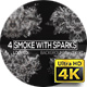 Smoke with Sparks Backgrounds Pack v2