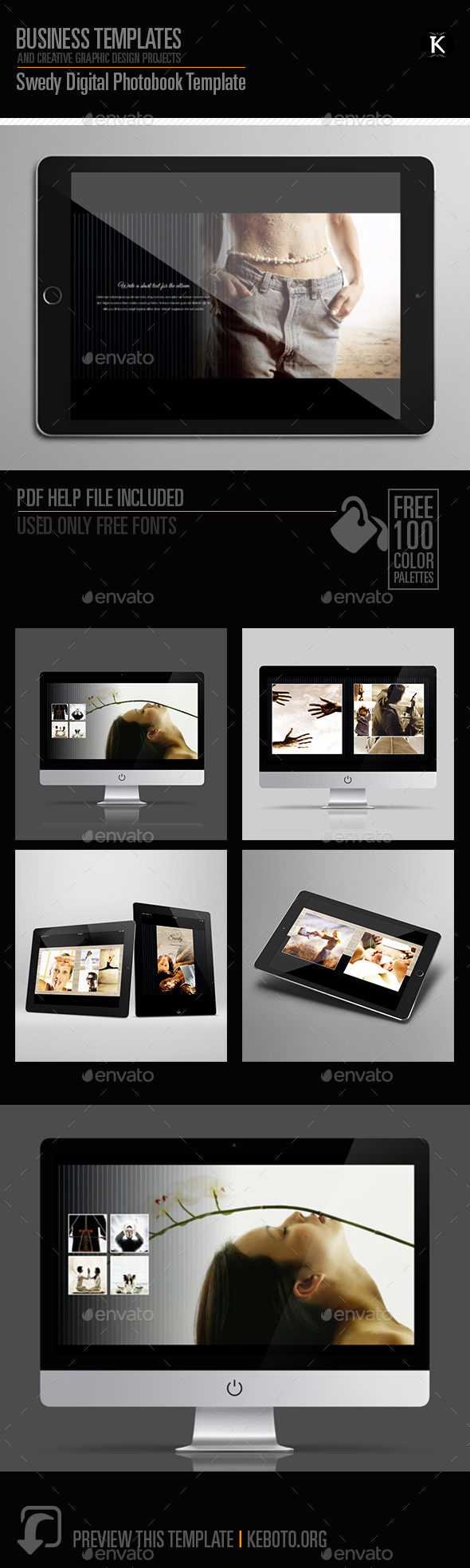 Swedy - Digital Photobook Template - ePublishing