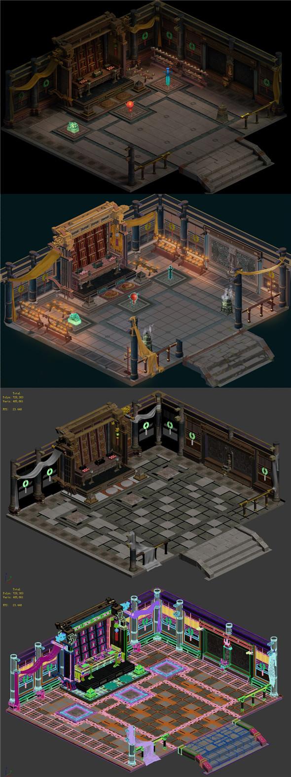Religion - Han Tai Temple - 3DOcean Item for Sale