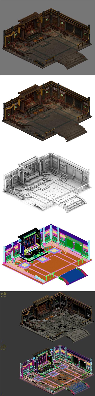 Religion - Han Tai Temple broken - 3DOcean Item for Sale