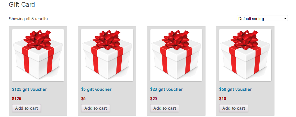Woocommerce Gift Card By Codemypain Codecanyon