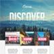 Travel Tours Flyer Template V3 - GraphicRiver Item for Sale