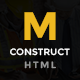 Construction - Construction Business, Building Company Template - ThemeForest Item for Sale