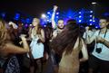 People Enjoying Live Music Concert Festival