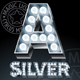 Silver Lamp Alphabet - GraphicRiver Item for Sale