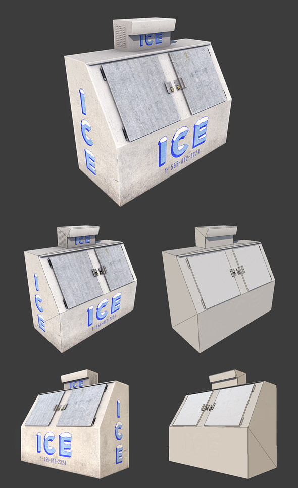 Ice Machine - 3DOcean Item for Sale