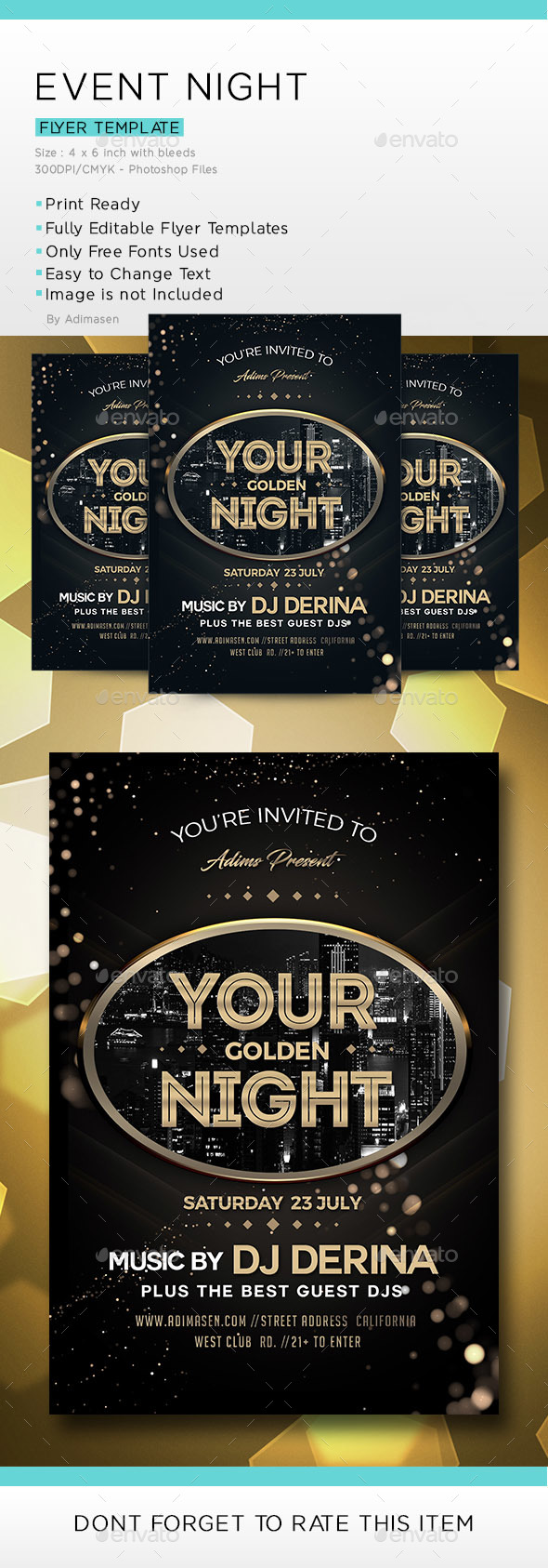 Event Night - Events Flyers