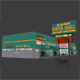 Slauson Super Mall Building - 3DOcean Item for Sale