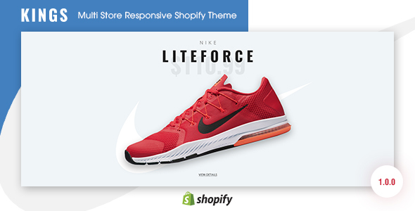 Image of KINGS - Multi Store Responsive Shopify Theme
