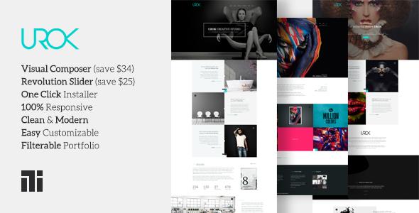 UROK: Responsive Multipurpose WordPress Theme