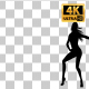Sexy Woman Dancing Silhouette-2 - VideoHive Item for Sale