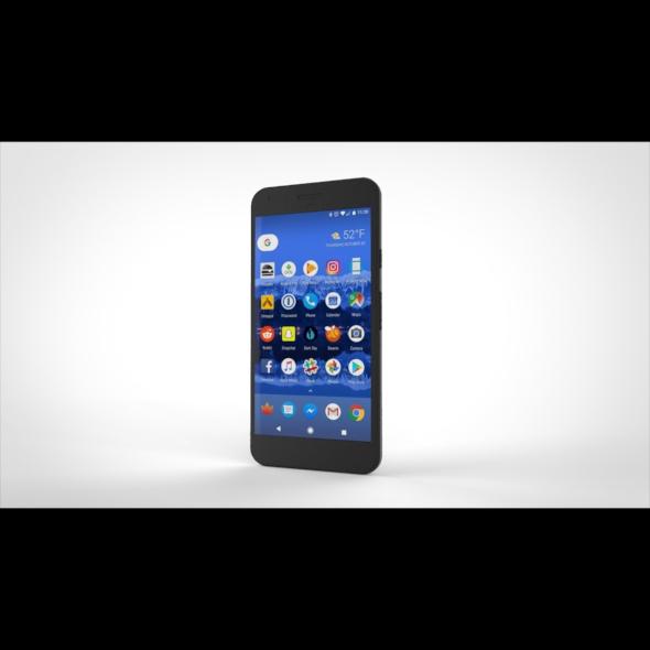 Google Pixel Mobile Phone - 3DOcean Item for Sale