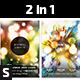 Minimal Lights Flyer - GraphicRiver Item for Sale