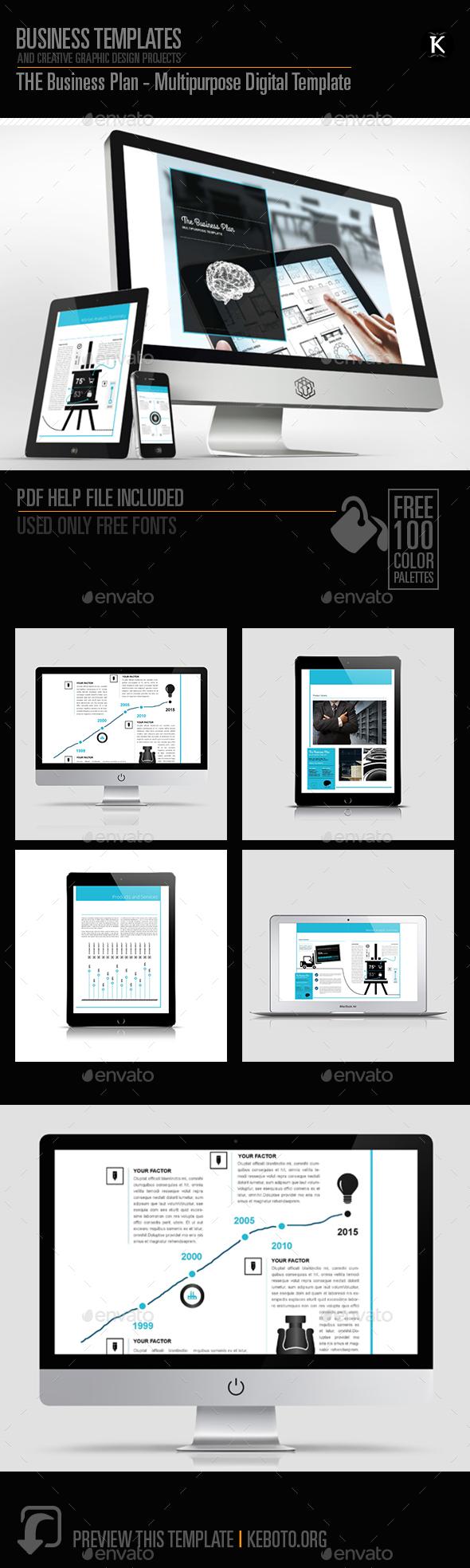 THE Business Plan - Multipurpose Digital Template - ePublishing