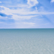 Blue Calm Sea and Passing Clouds - VideoHive Item for Sale