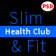 Slim&Fit Health Club | Multipurpose Sport, Gym, Fitness, Yoga, Dance PSD Template - ThemeForest Item for Sale
