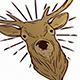 Deer Animal Logo Template