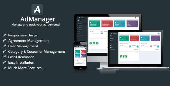 AdManager - Manage and Track Your Agreements - CodeCanyon Item for Sale