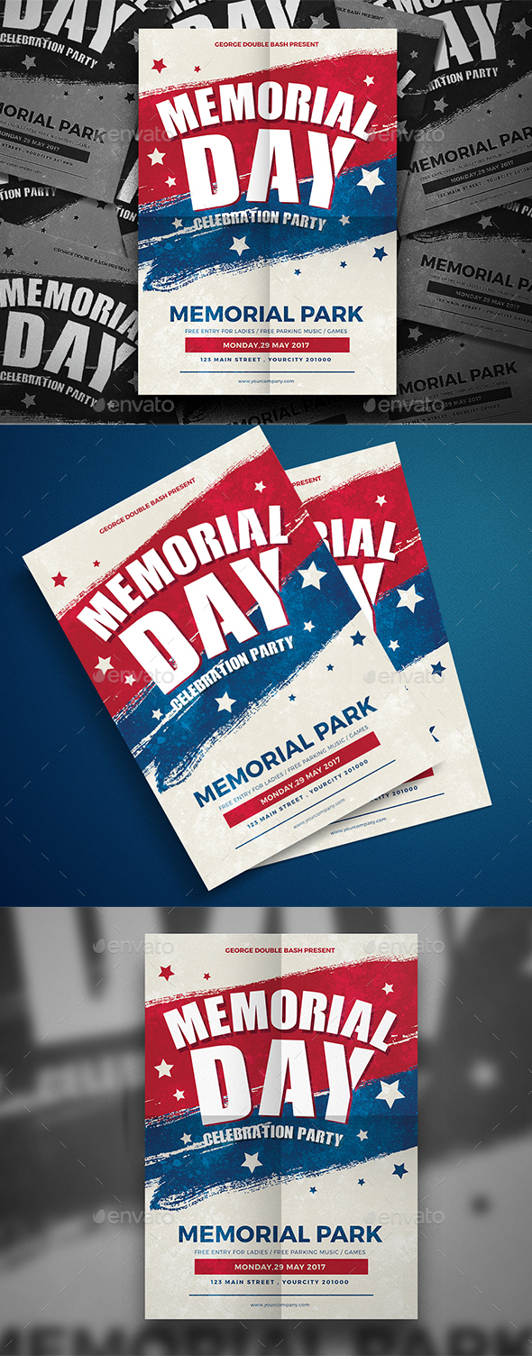 Memorial Day Flyer - Events Flyers
