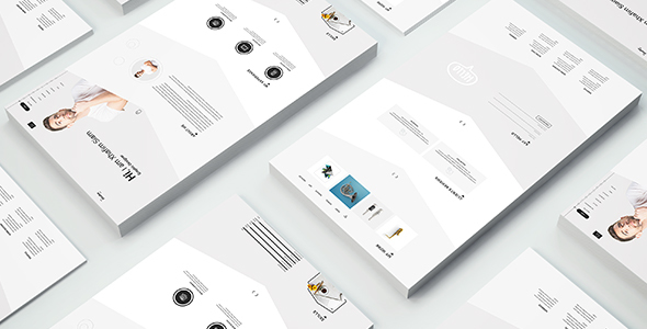 Shafia Freelancer Portfolio & Resume PSD Template