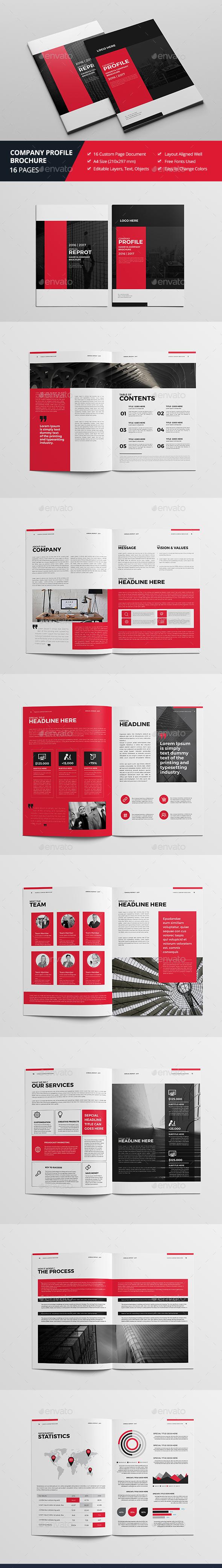 Haweya Company Profile - Corporate Brochures