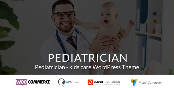 Pediatrician - kids care WordPress Theme