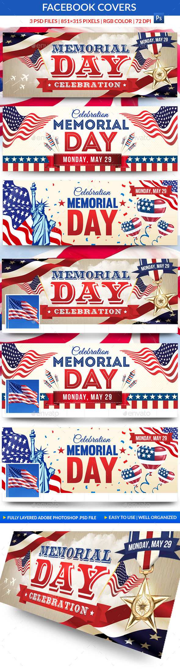 Memorial Day Facebook Covers - Facebook Timeline Covers Social Media