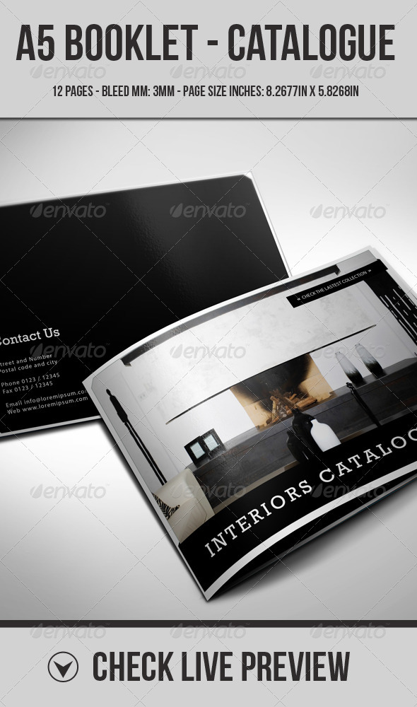 A5 Booklet - Catalogue - Brochure - Corporate Brochures