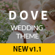 Dove - A Wedding WordPress Theme - ThemeForest Item for Sale