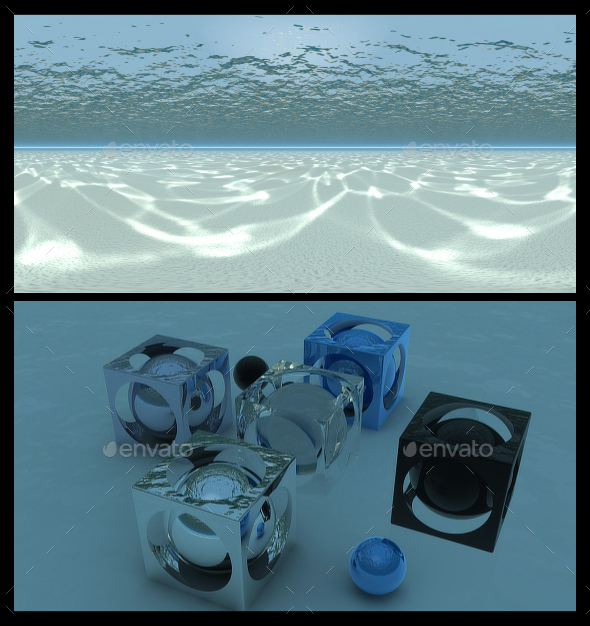 Underwater 2 - HDRI - 3DOcean Item for Sale