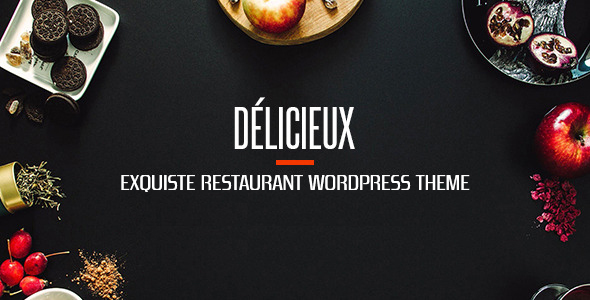 Food Delicieux | Creative Restaurant WordPress Theme