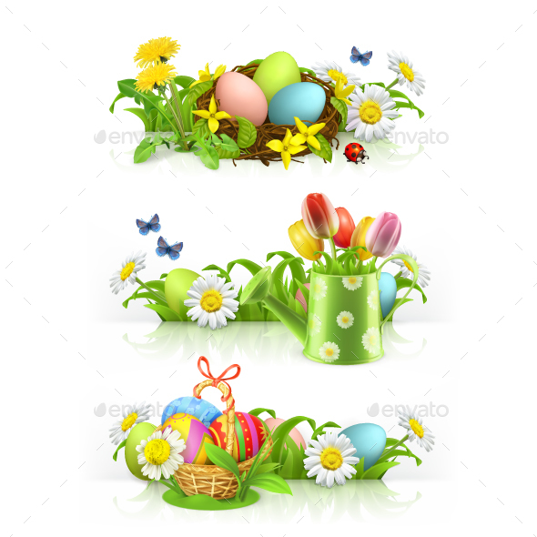 Easter Spring Flowers - Miscellaneous Seasons/Holidays