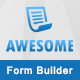 Awesome - Angular JS form builder - CodeCanyon Item for Sale