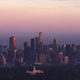 Melbourne City Sunrise Aerial - VideoHive Item for Sale