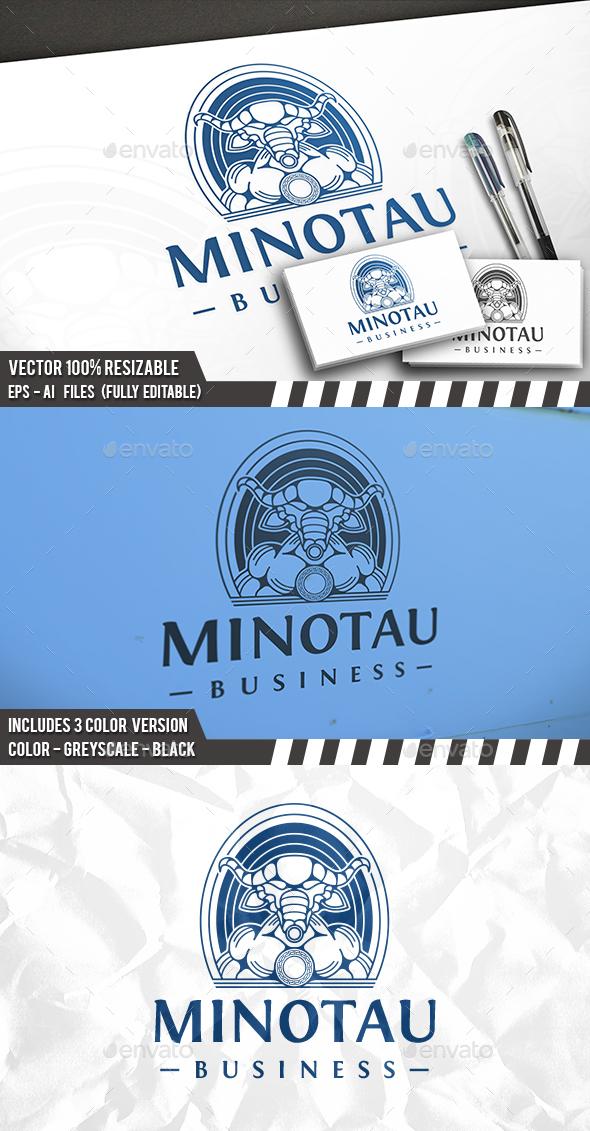 Minotaur Logo Template - Humans Logo Templates