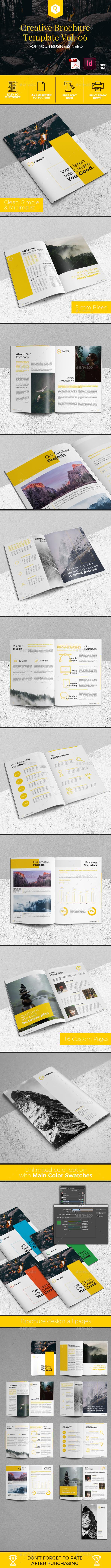 Creative Brochure Template Vol. 06 - Corporate Brochures