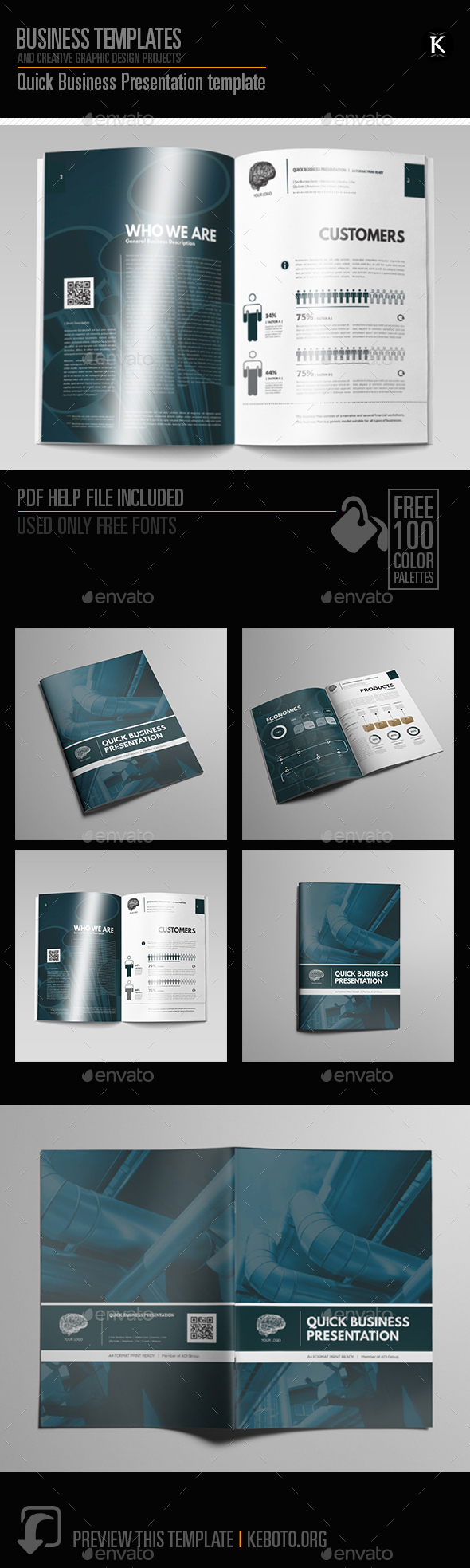 Quick Business Presentation Template - Miscellaneous Print Templates