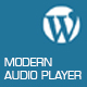 Modern Audio Player Wordpress Plugin