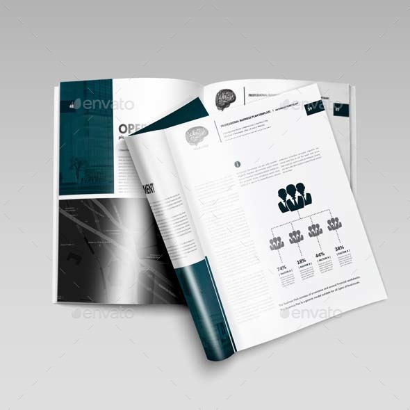 Professional business plan template by keboto graphicriver business plan template kfea 16g accmission Images