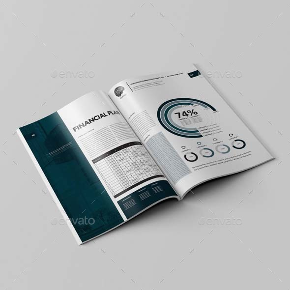 Professional Business Plan Template By Keboto GraphicRiver - Business plan template indesign