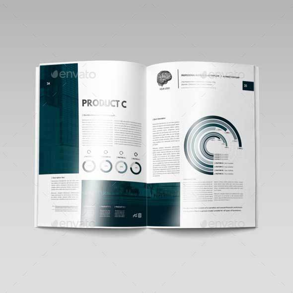 Professional Business Plan Template By Keboto GraphicRiver - Professional business plan template