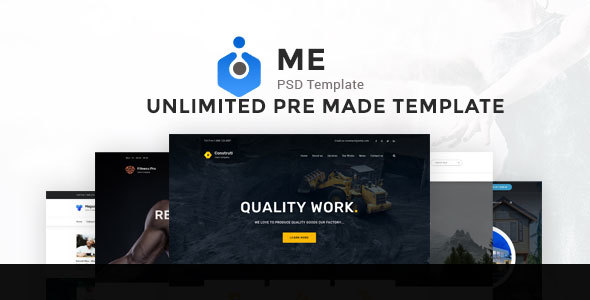 ME Multipurpose PSD Template