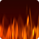 Fire Flame Background - 2 Clips - VideoHive Item for Sale