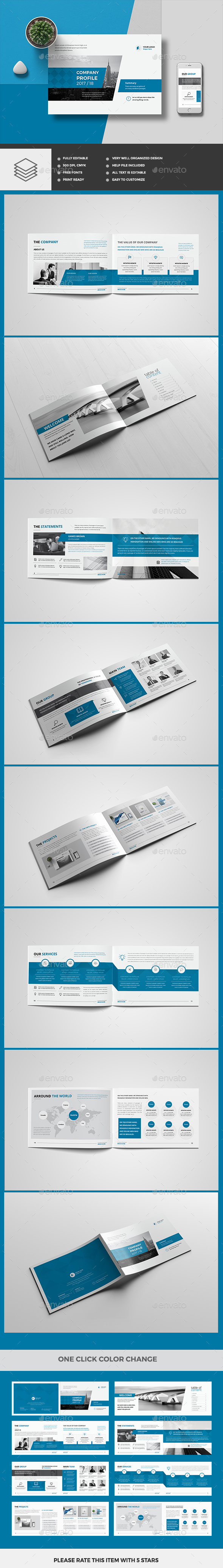 Company Profile 16 Pages - Corporate Brochures