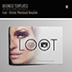 Loot - Artistic Photobook Template - GraphicRiver Item for Sale