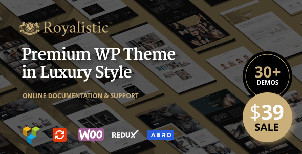 Royalistic – Creative Multi-Purpose WordPress Theme