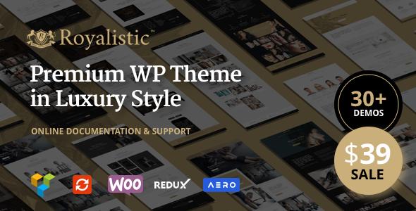 Royalistic – Creative Multi-Purpose WordPress Theme